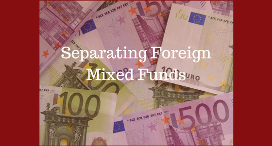 Separating Foreing Mixed Funds - thortax